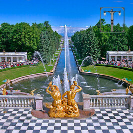 The Peterhof Palace and Fountains Tour with Transfer